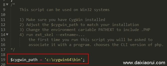 $cygwin_path = 'c:\cygwin64\bin'