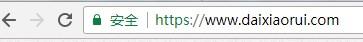https安全小锁提示